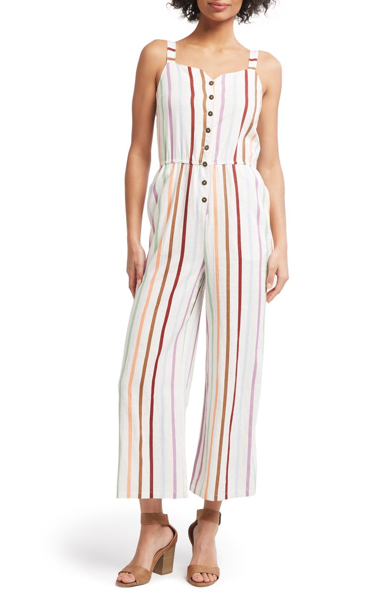 MODCLOTH Every Waking Momentum Jumpsuit, Main, color, 900