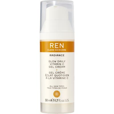 Ren Clean Skincare Glow Daily Vitamin C Gel Cream Moisturizer