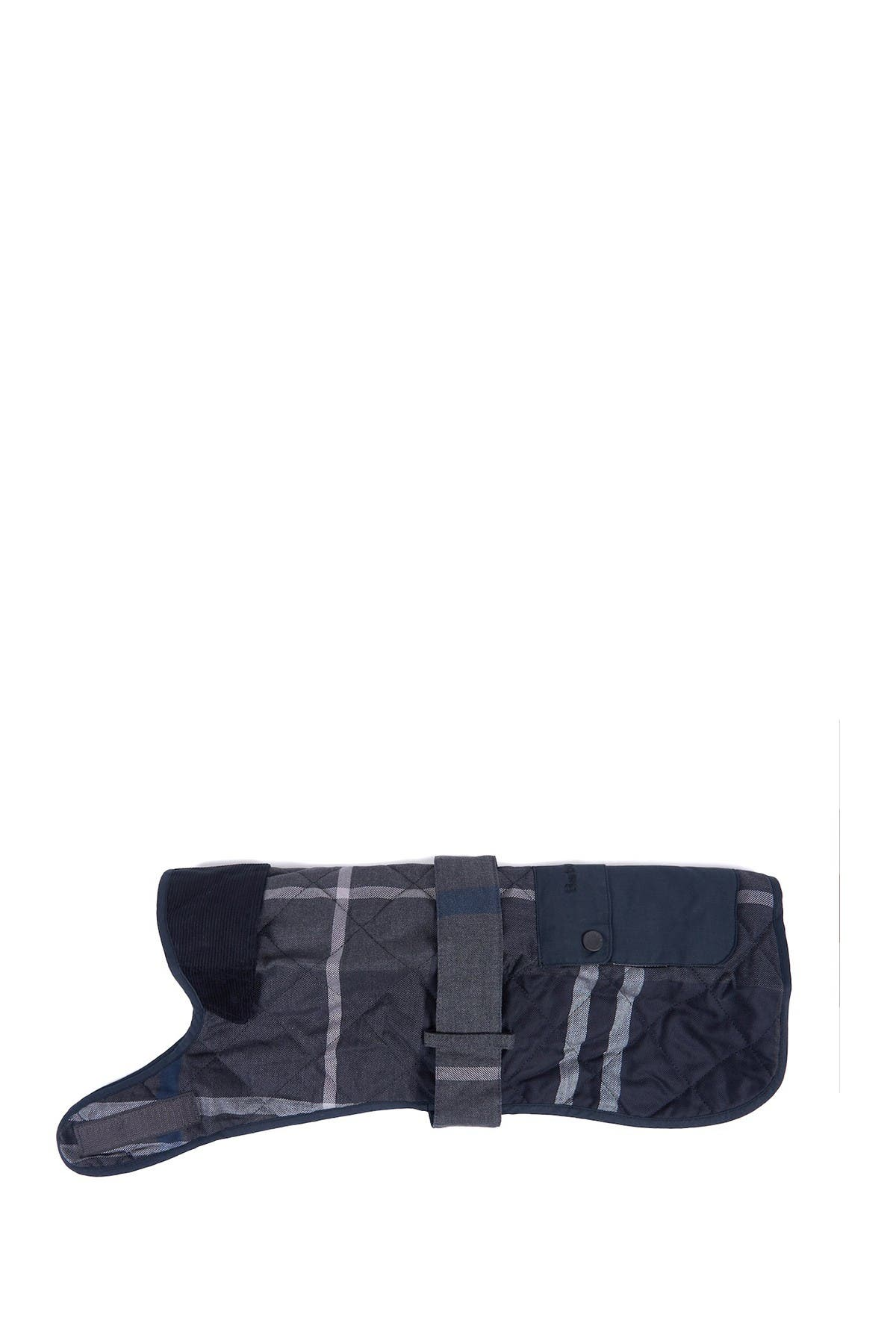 Image of Barbour Tartan Graphite Dog Coat