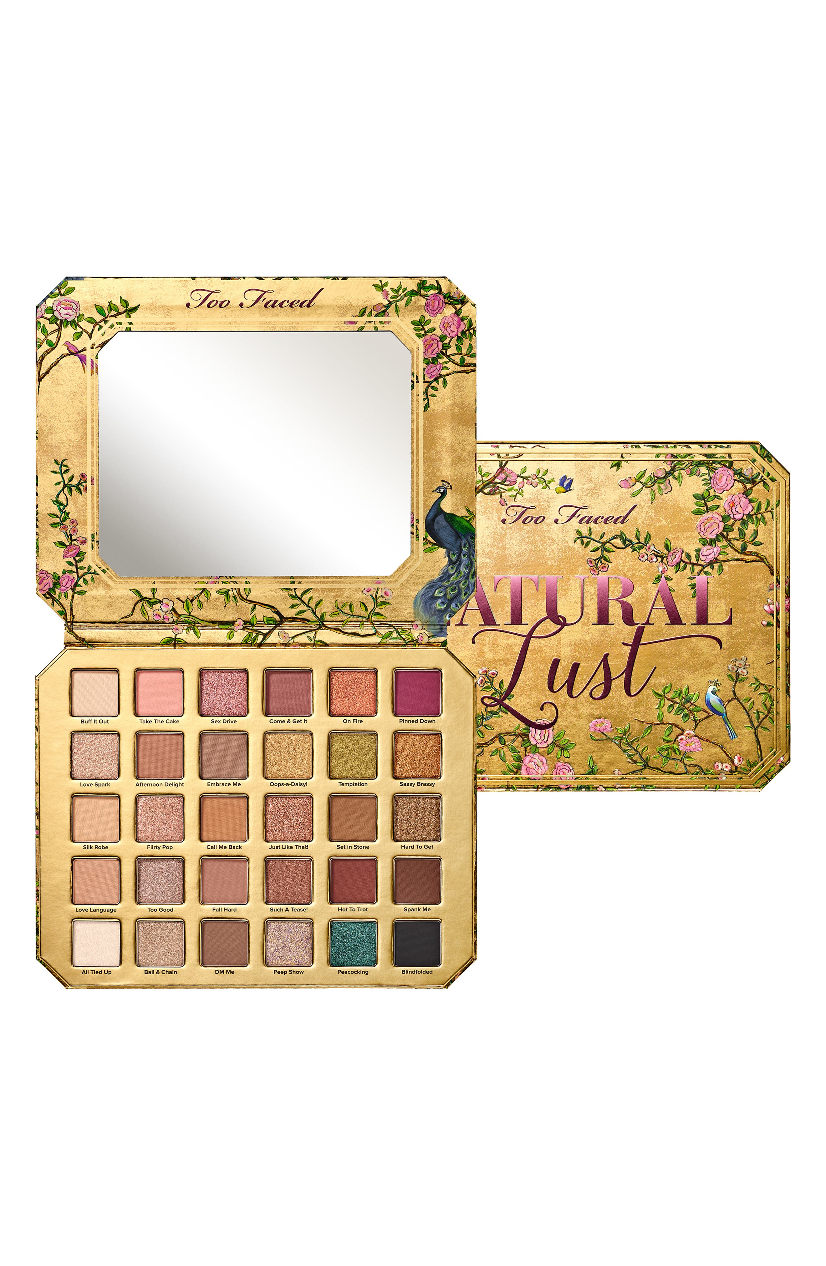 ,                             Natural Lust Naturally Sexy Eyeshadow Palette,                             Alternate thumbnail 6, color,                             NO COLOR