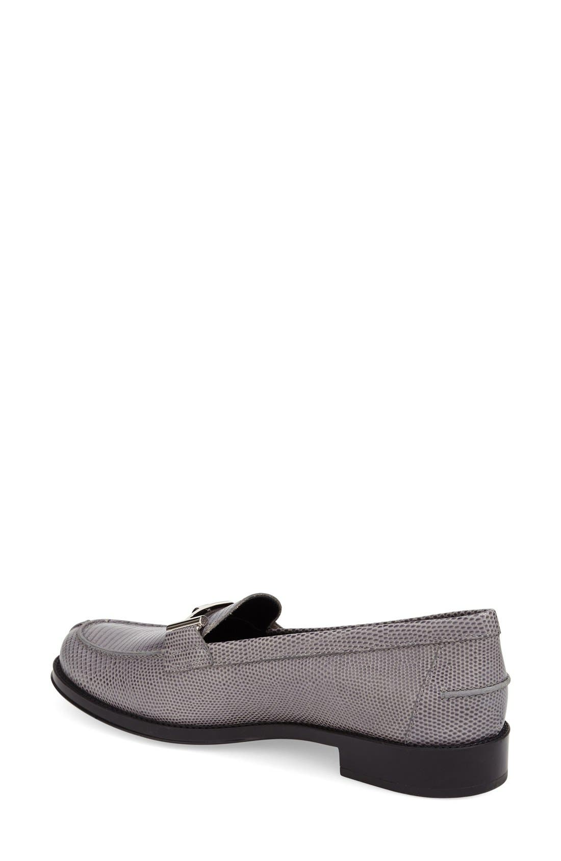 ,                             'Double T' Loafer,                             Alternate thumbnail 6, color,                             020