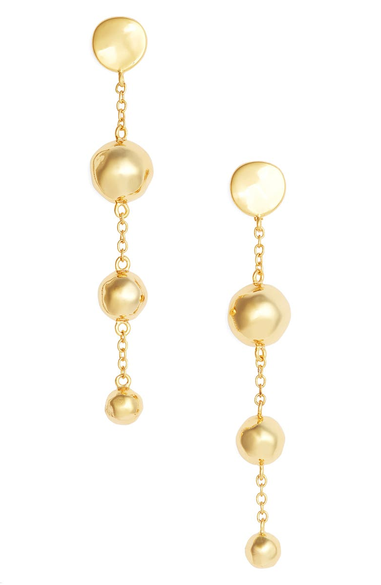 GORJANA Makena Tiered Drop Earrings, Main, color, 710
