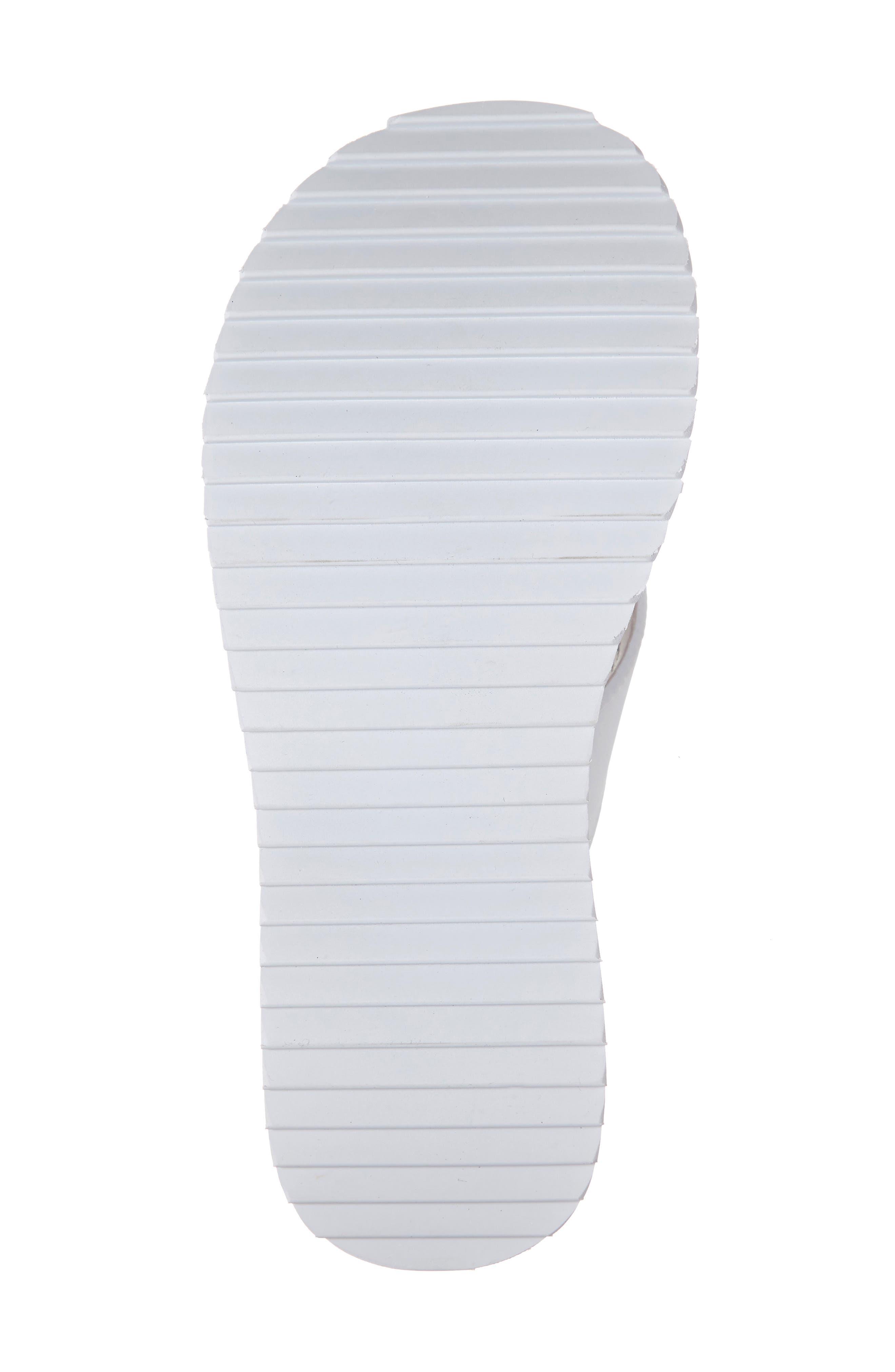 ,                             Platform Flip Flop,                             Alternate thumbnail 6, color,                             WHITE