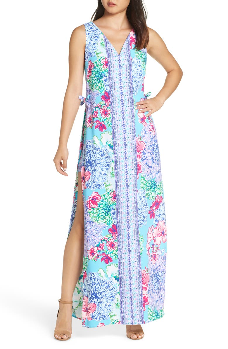 LILLY PULITZER<SUP>®</SUP> Donna Maxi Romper, Main, color, 400