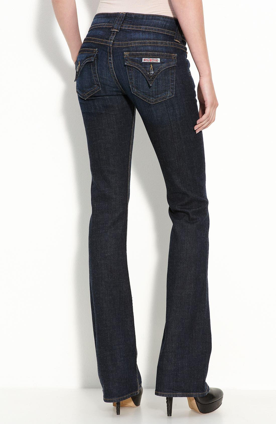 ,                             Signature Flap Pocket Bootcut Jeans,                             Alternate thumbnail 73, color,                             476