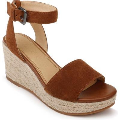 Splendid Arianna Espadrille Wedge Sandal- Brown