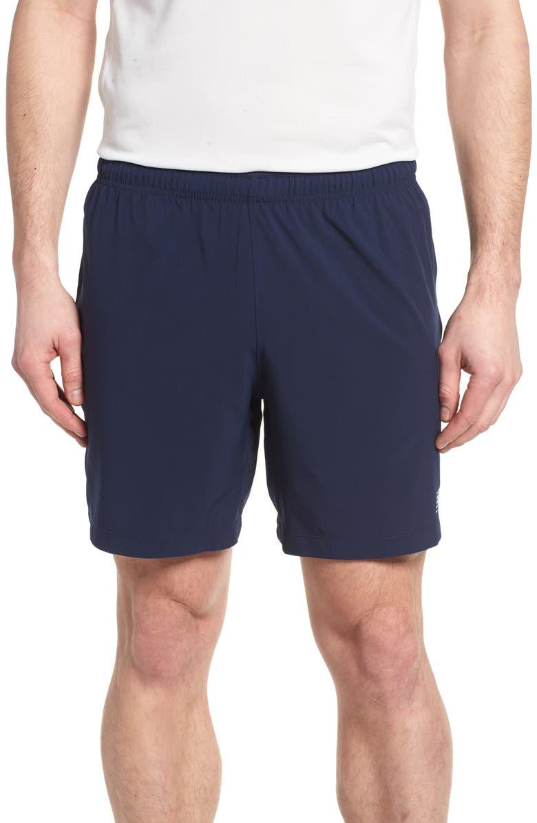 NEW BALANCE Impact Shorts, Main, color, PIGMENT