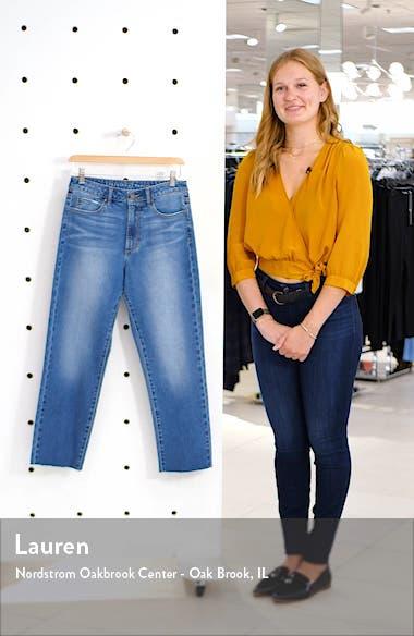 Kate Crop Straight Leg Jeans, sales video thumbnail