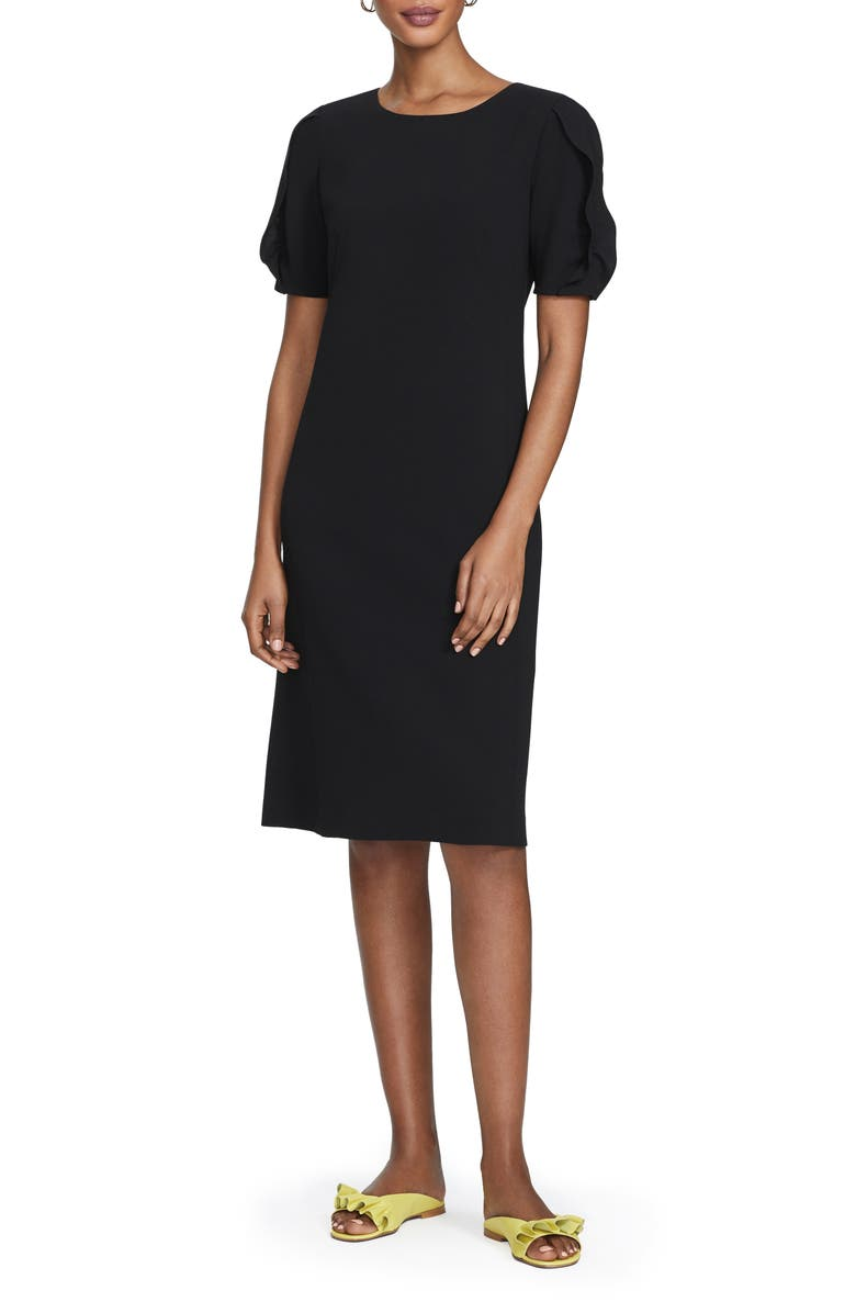 LAFAYETTE 148 NEW YORK Winslow A-Line Sheath Dress, Main, color, 001