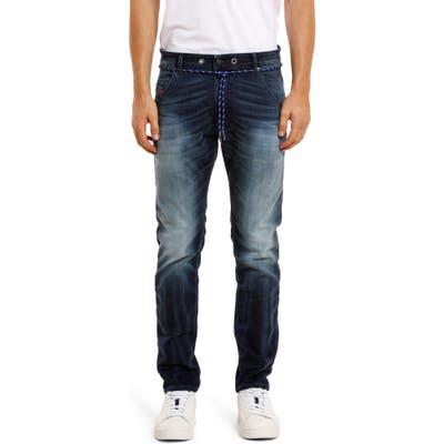 Diesel Krooley Jogg Slouchy Slim Straight Jeans, Blue