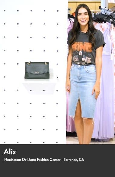 large florence leather shoulder bag, sales video thumbnail