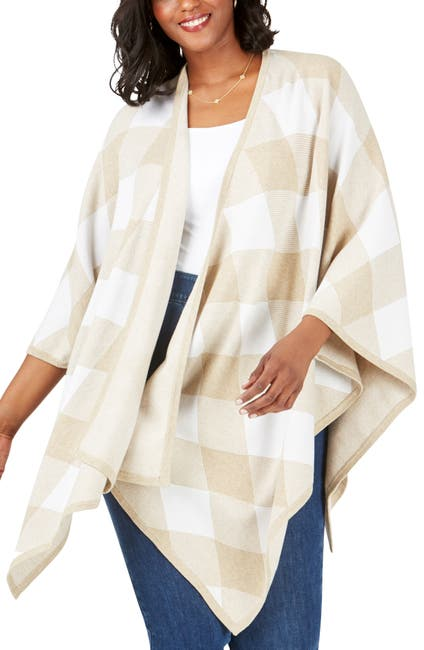 Image of FOXCROFT The Walker in Diamond Plaid Wrap