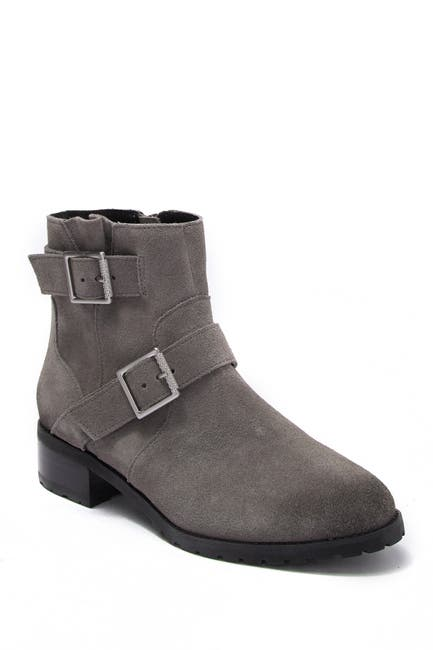 Image of SUSINA Odette Water-Resistant Suede Ankle Boot