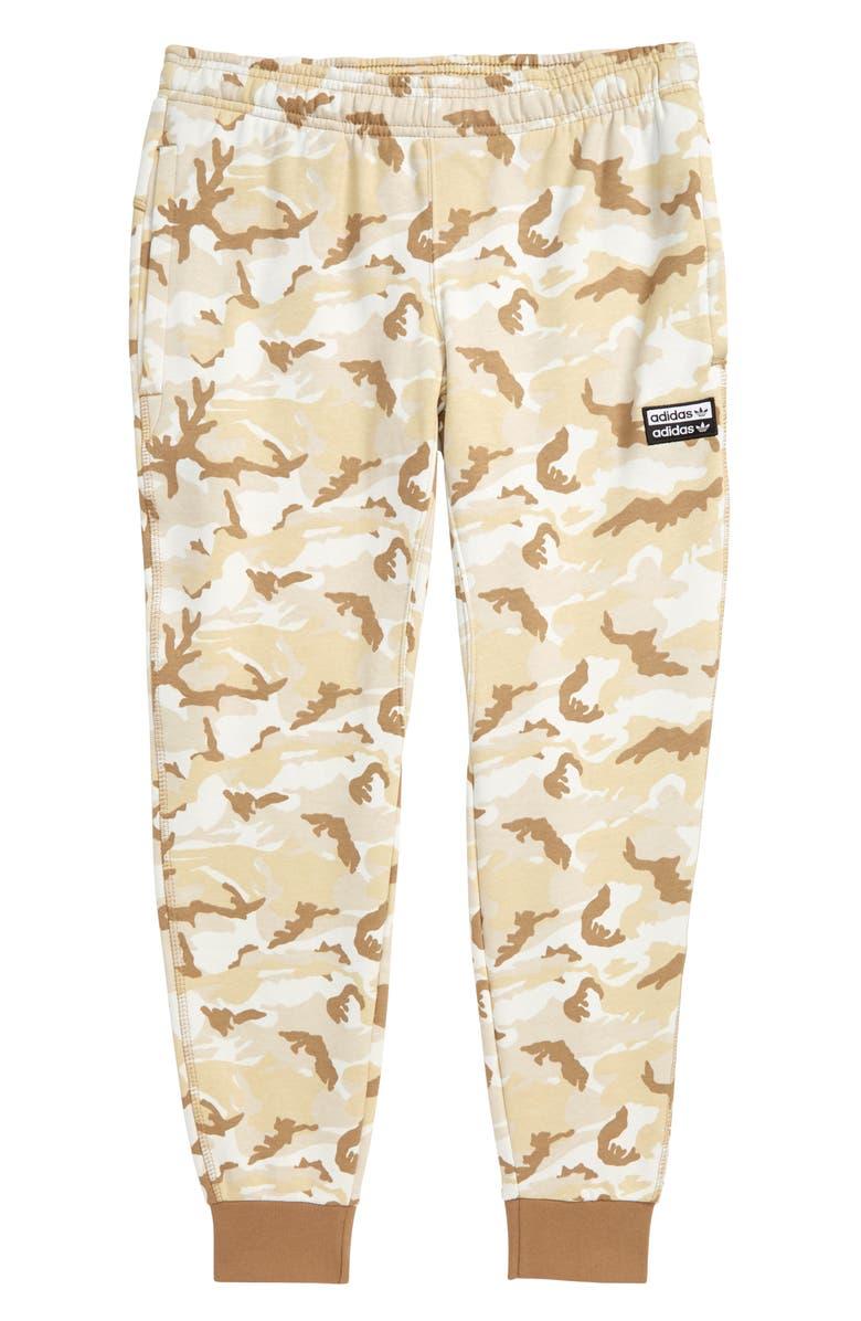 ADIDAS ORIGINALS adidas V-Ocal Fleece Sweatpants, Main, color, MULTICOLOR/ CARDBOARD