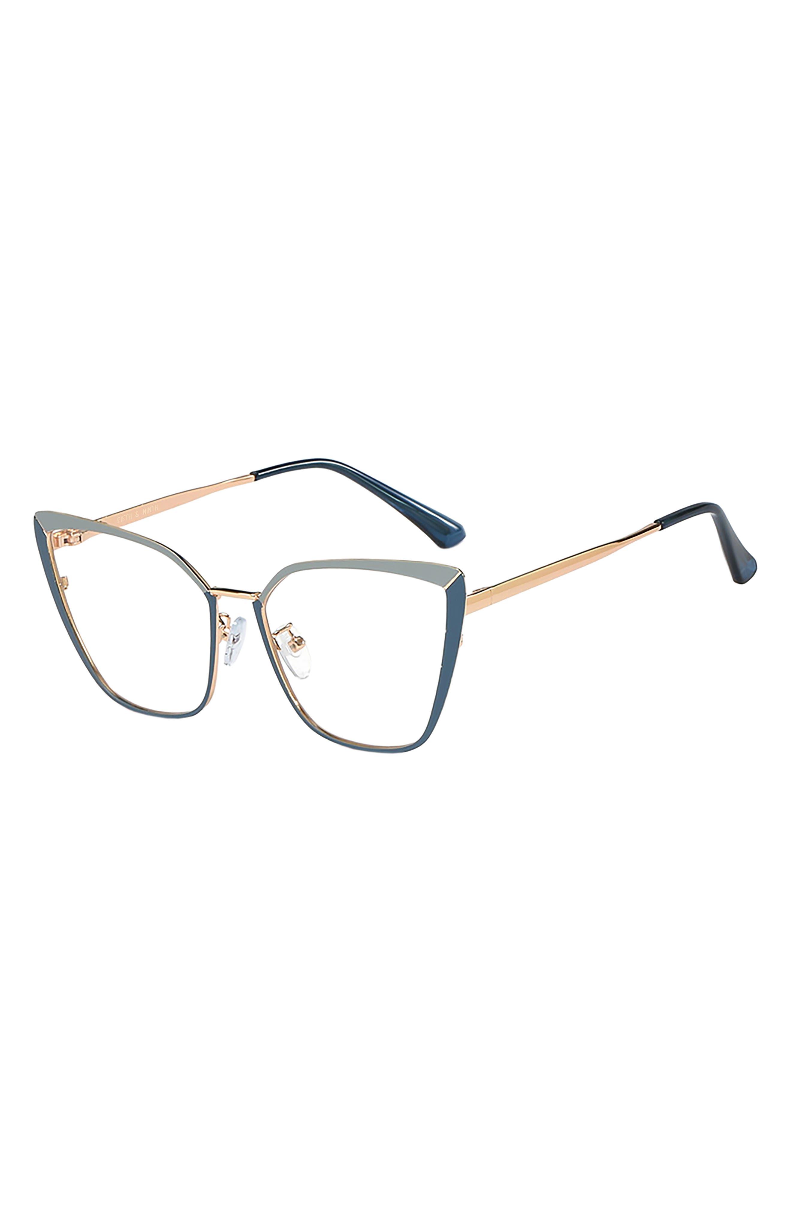 Odessa 53mm Cat Eye Blue Light Blocking Glasses