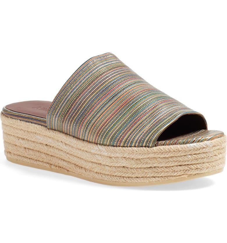 299bbaa7940 Vince 'Solana' Espadrille Platform Slide Sandal (Women) | Nordstrom