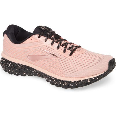 Brooks Ghost 12 Running Shoe, Coral