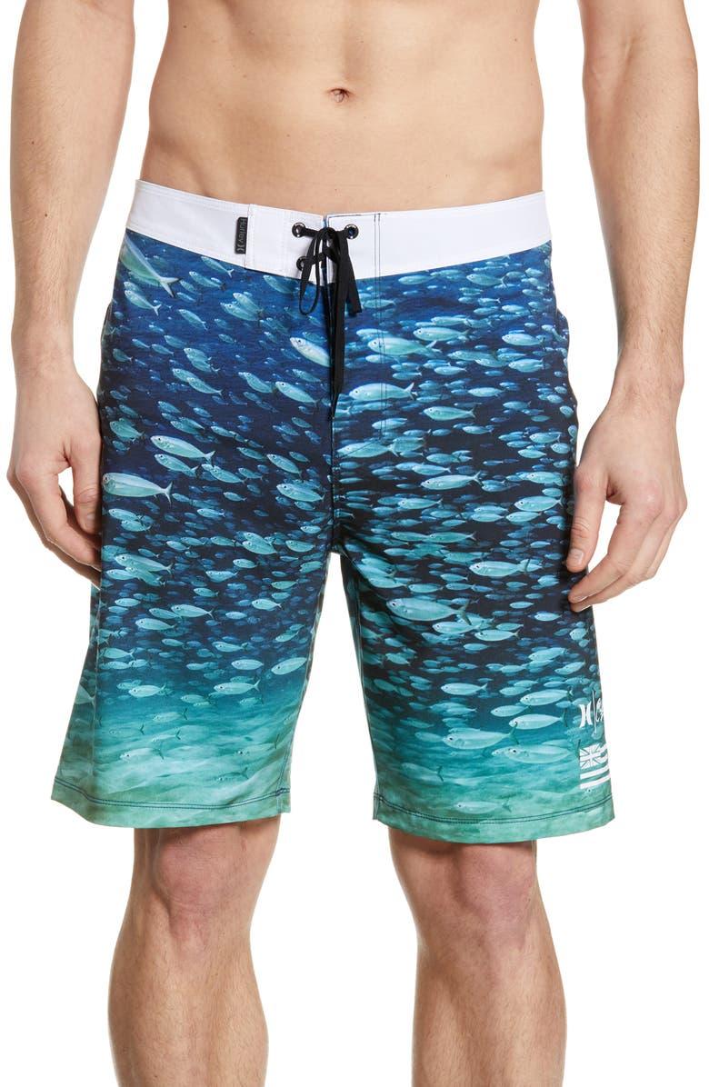 HURLEY Phantom Clark Underwater Board Shorts, Main, color, 451