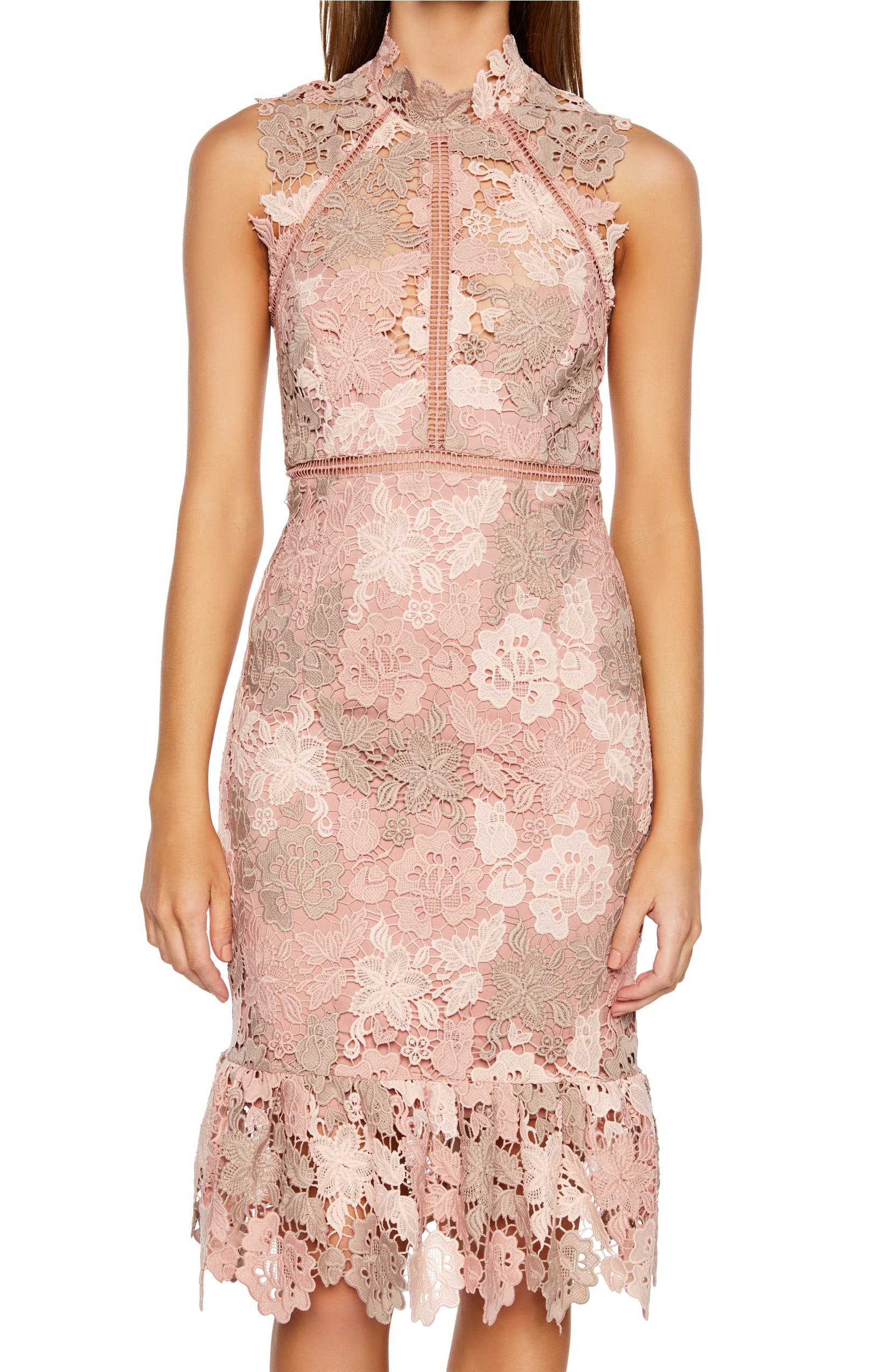 Dani Lace Sheath Dress
