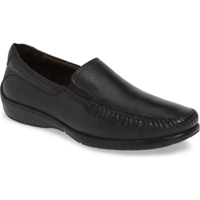 Johnston & Murphy Crawford Venetian Loafer, Black