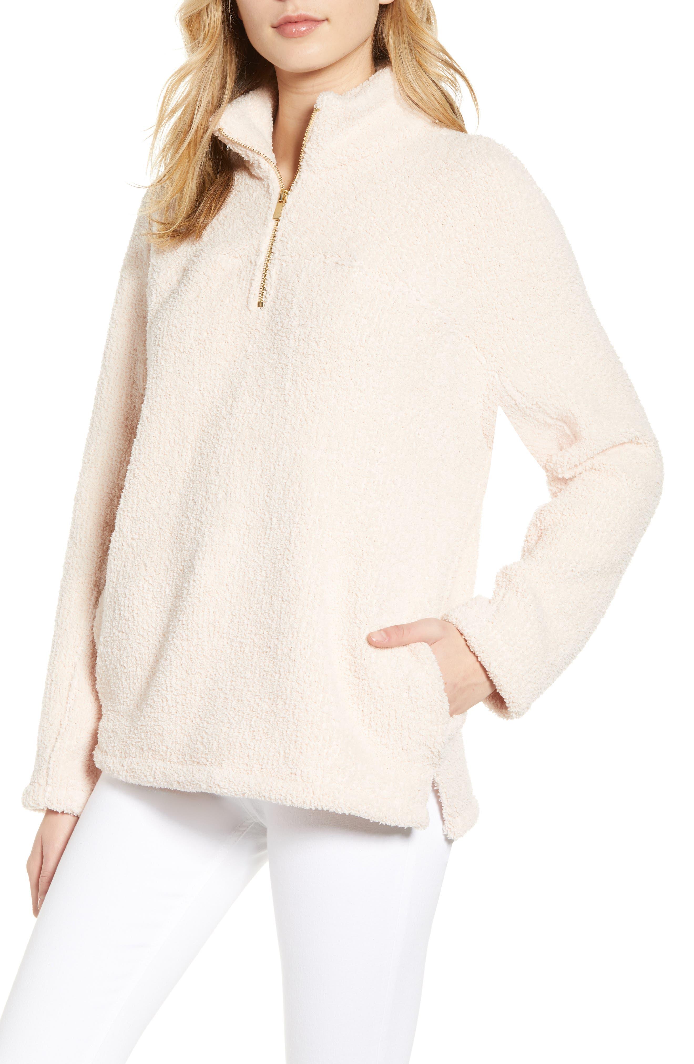 Drayton Fleece Pullover, Main, color, 681