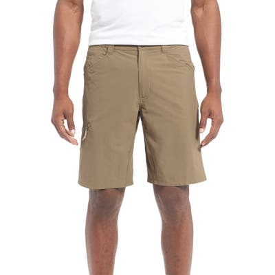 Patagonia Quandary Water Repellent Stretch Hiking Shorts, Beige