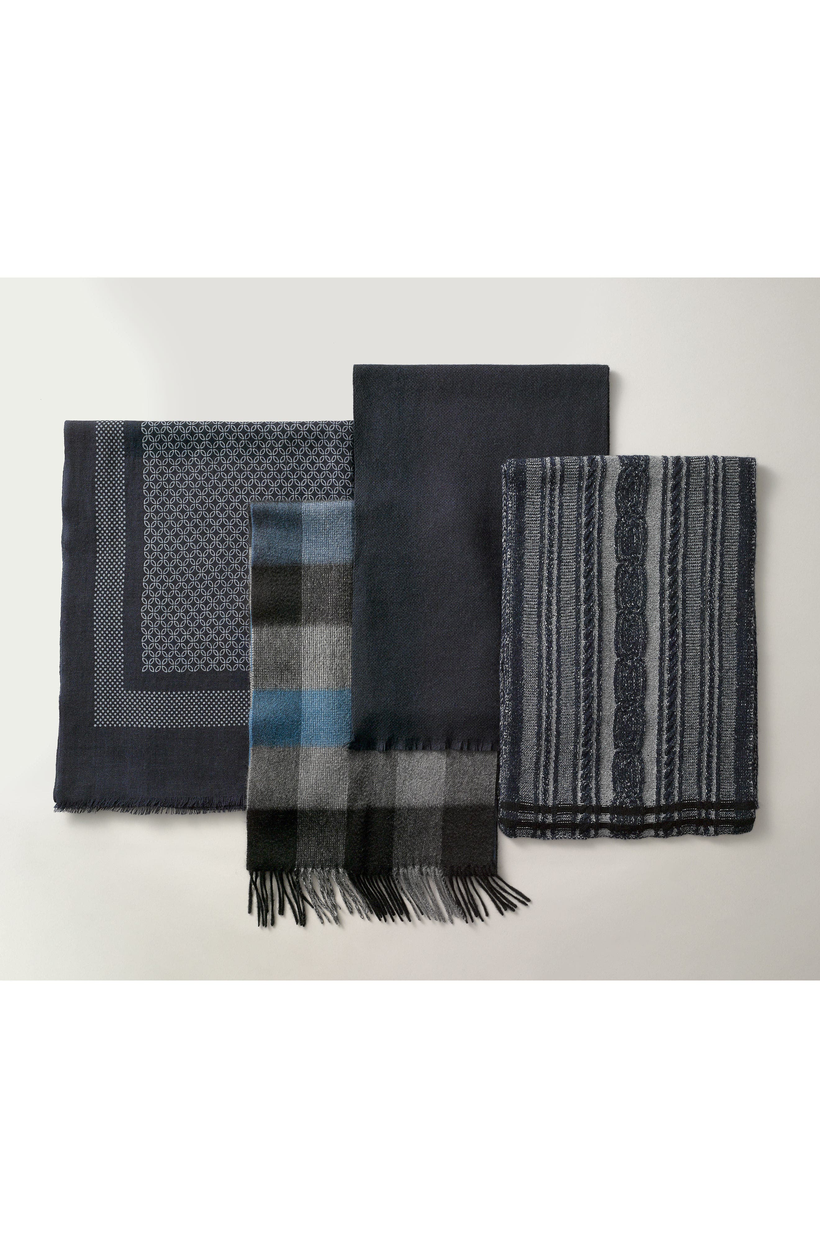 ,                             Solid Cashmere Scarf,                             Alternate thumbnail 4, color,                             210
