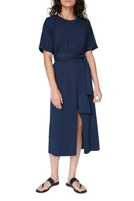 Image of Stateside Supima T-Shirt Dress with Tie