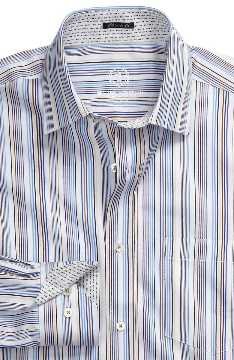 BUGATCHI Uomo Classic Fit Sport Shirt, Main, color, 422