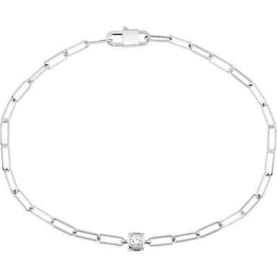 Dinh Van Le Cube Diamant 18K Gold Chain Bracelet