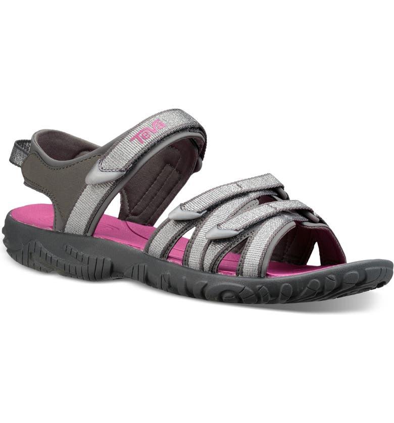 TEVA Tirra Sport Sandal, Main, color, SILVER / MAGENTA