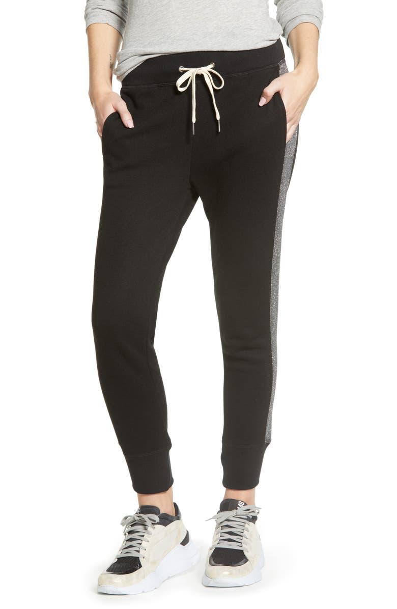 N:PHILANTHROPY Barkley Sparkle Jogger Pants, Main, color, BLACK CAT