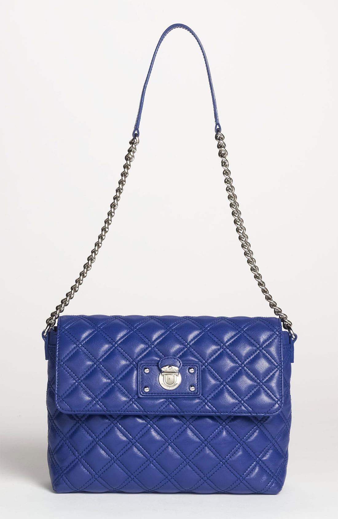 ,                             'Large Quilting Single' Leather Shoulder Bag,                             Main thumbnail 30, color,                             430