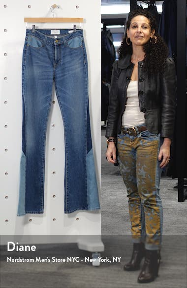 Le High Waist Flare Leg Jeans, sales video thumbnail