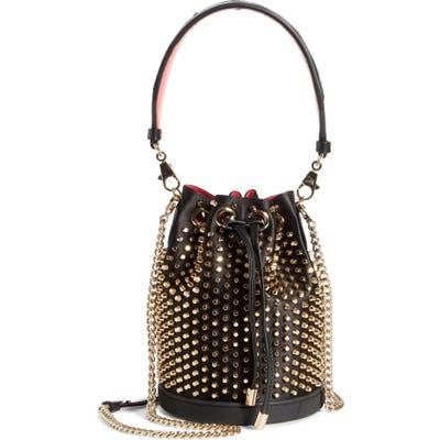 Christian Louboutin Marie Jane Loubirun Bucket Bag - Black