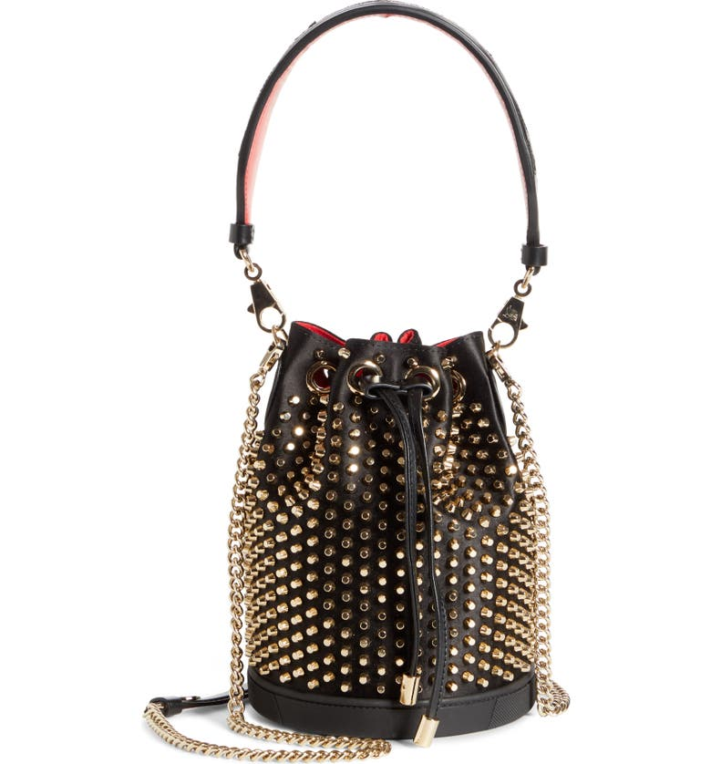 Marie Jane Loubirun Bucket Bag by Christian Louboutin