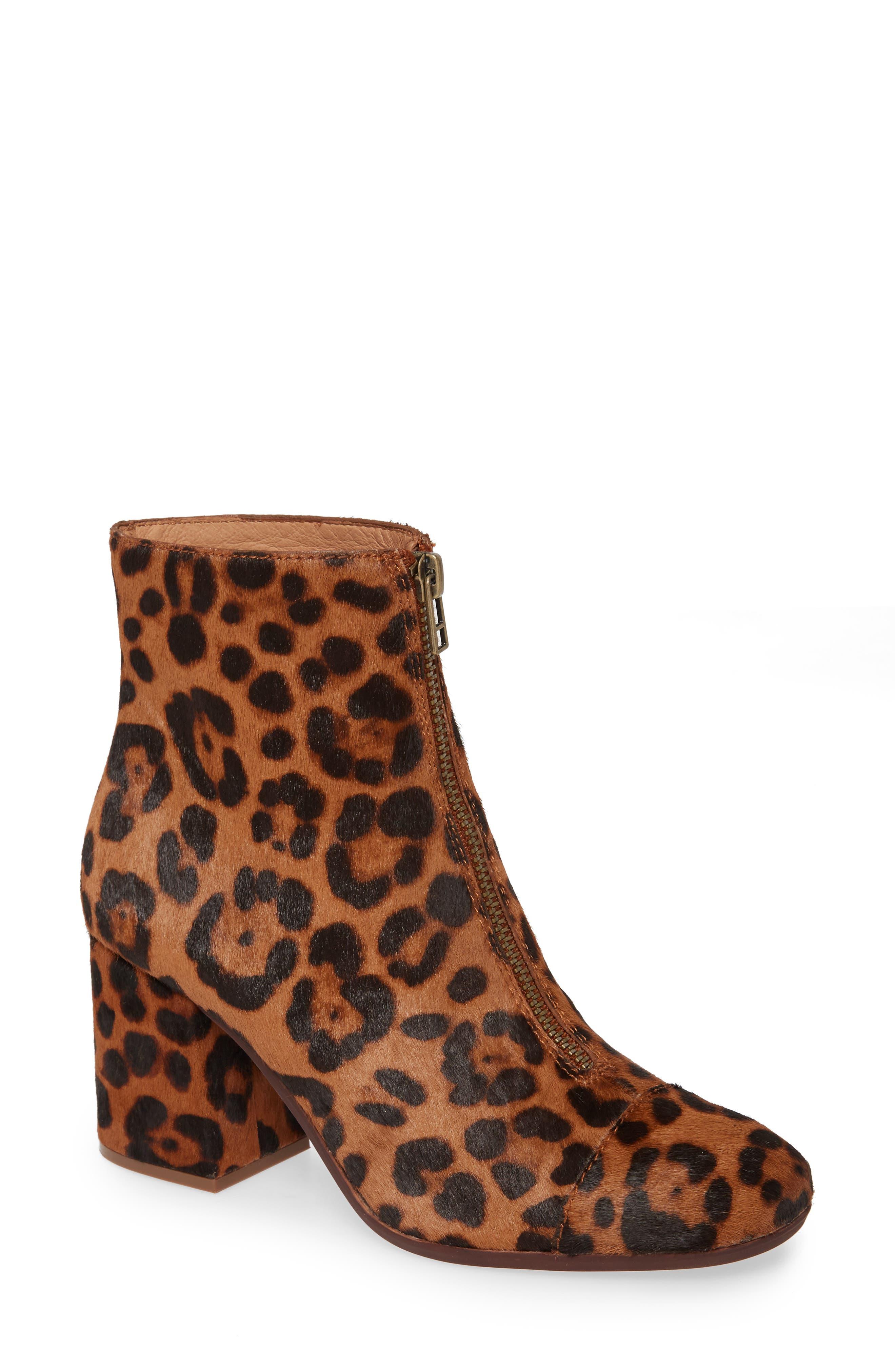 The Amalia Leopard Print Genuine Calf