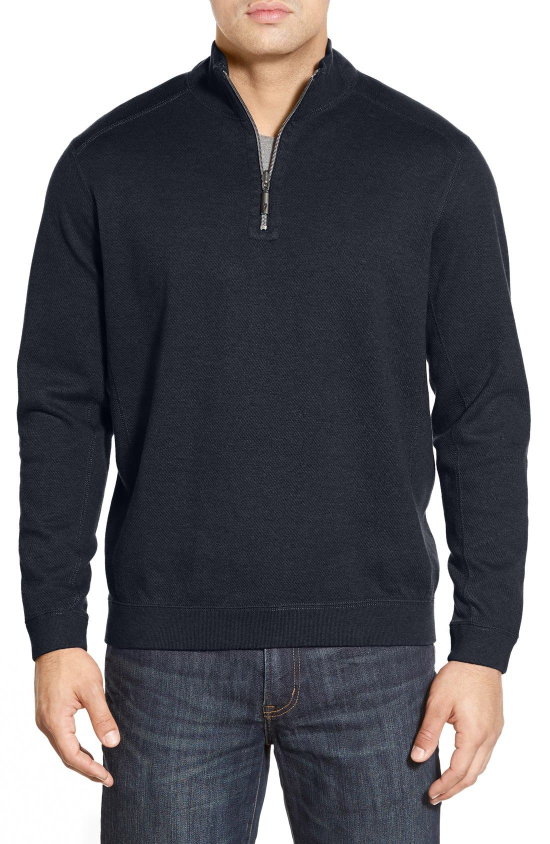 ,                             'Flip Side' Reversible Quarter Zip Pullover,                             Main thumbnail 77, color,                             407