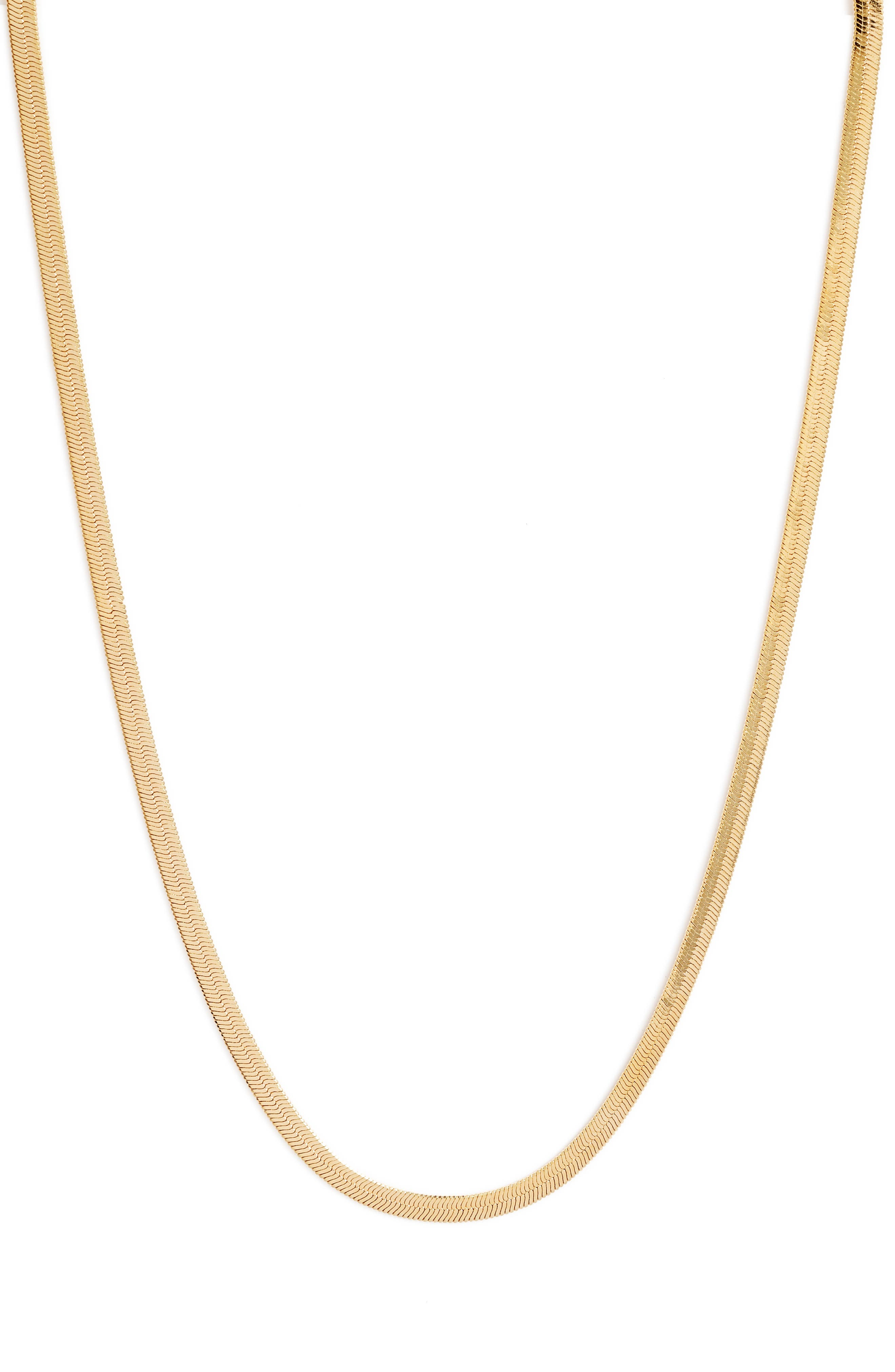 Skinny Monte Carlo Chain Necklace