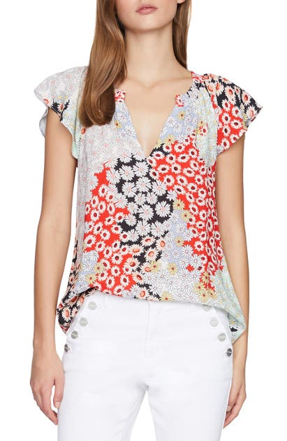 Sanctuary GARDEN CAP SLEEVE TOP
