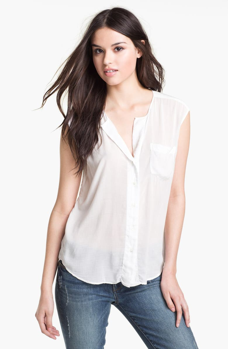 JAMES PERSE Soft Shell Shirt, Main, color, 100