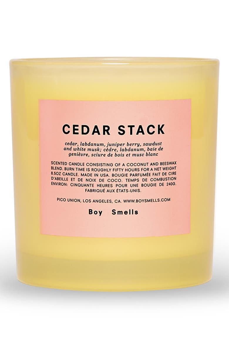 BOY SMELLS Pride Cedar Stack Scented Candle, Main, color, 750