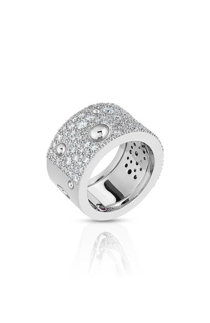Roberto Coin POIS MOI LUNA DIAMOND BAND RING