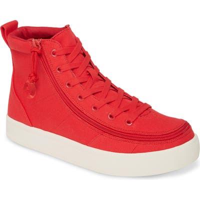 Billy Footwear Classic High Top Sneaker, Red