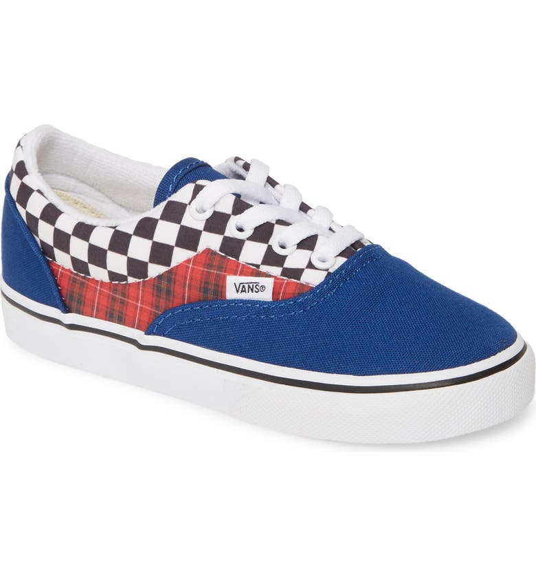 VANS Era Low Top Sneaker, Main, color, TRUE BLUE/ RACING RED