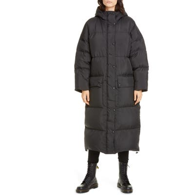 Stand Studio Ally Down Fill Puffer Coat, US / 40 FR - Black