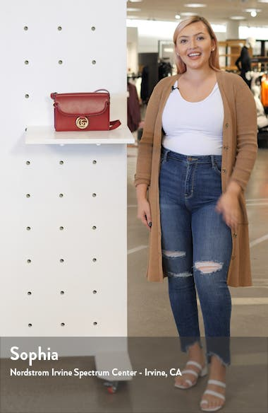 Small GG Ring Leather Shoulder Bag, sales video thumbnail