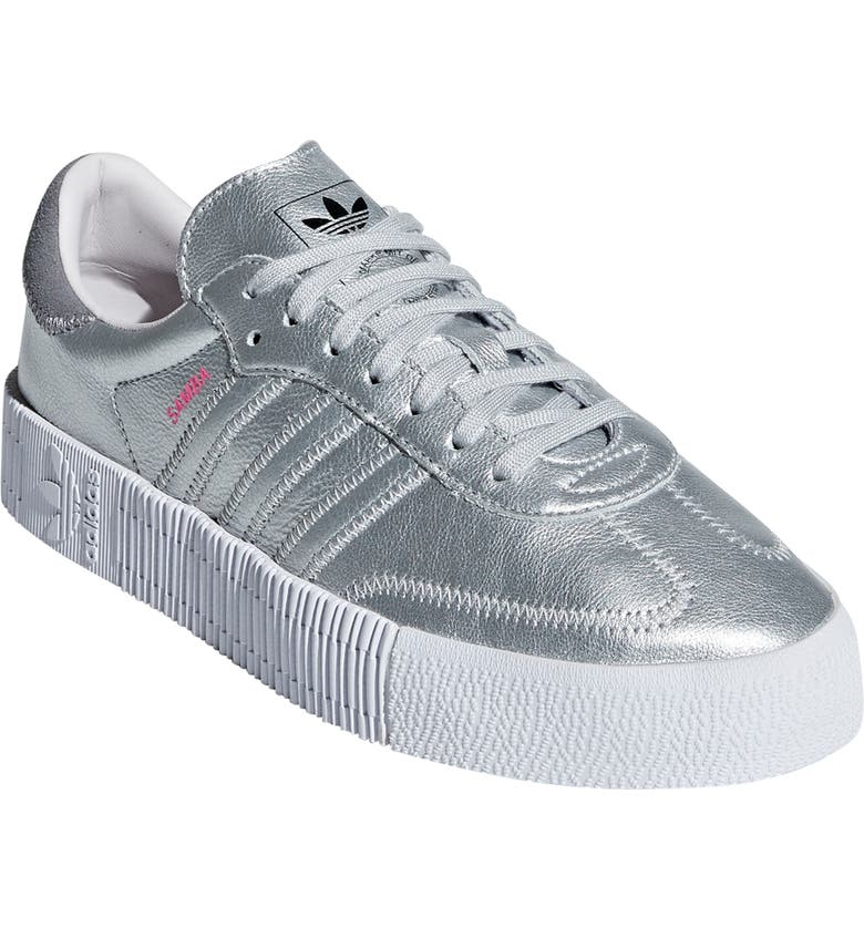 ADIDAS Samba Rose Sneaker, Main, color, 040