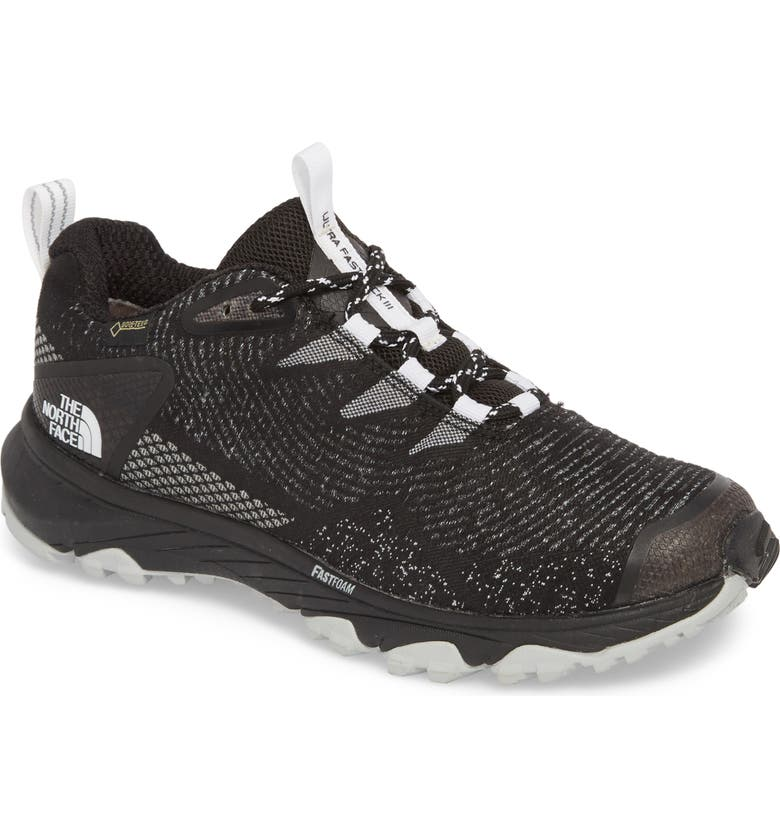 THE NORTH FACE Ultra Fastpack III Low Top Gore-Tex<sup>®</sup> Hiking Shoe, Main, color, 001