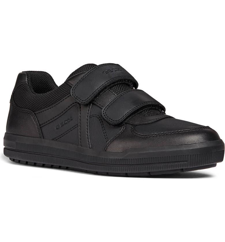 GEOX Arzach Sneaker, Main, color, BLACK